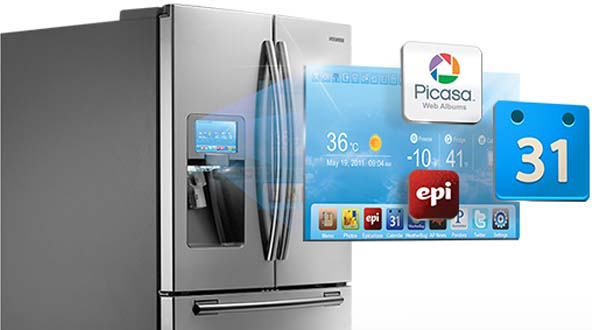 Samsung Brings Social Media To The Kitchen